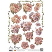 Amy Design bloem in hart CD10253