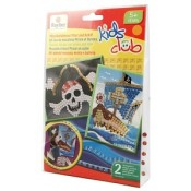 Kids Club Moziek stickerset - Piraat