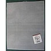 Plastiek stramien 27X34cm