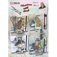Kaartpakket Staf Wezenbeek, Kerst met vogels