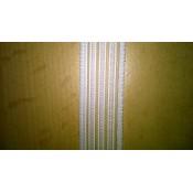 Taille elastiek wit