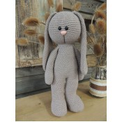 Funny Bunny Basic staand taupe XXL