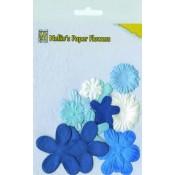 NS - Flower Blue