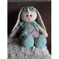 Funny Bunny XXL kledingset Birdy grey
