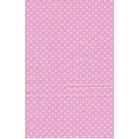 stof 50x70 cm roze stip