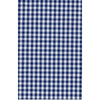 stof 50x70 cm blauwe ruit