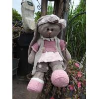 Funny Bunny XXL kledingset Dots pastel