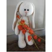 Funny Bunny Basic staand ivoor XXL