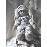 Funny Bunny XXL kledingset Winterfun girl