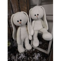 Funny Bunny Basic staand/zittend ivoor XXL
