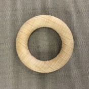 Houten ring 35 x 7 mm blank