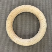 Houten ring 56 x 9 mm blank