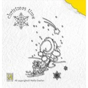 Christmas Time Clear Stamp 1