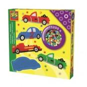 Strijkkralen met auto's SES06111
