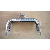 Portemonneesluiting 7cm zilver